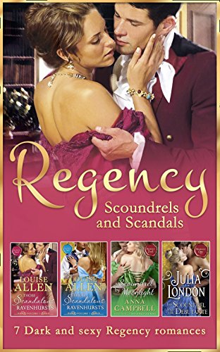 book cover of Regency Scoundrels And Scandals