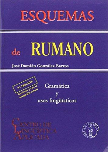 Esquemas de rumano (Esquemas gramaticales) por José Damián González-Barros