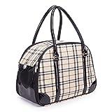 Daeou Zaino per animali domestici Gatto PP sacchetto pieghevole portatile cane bagagli gabbia, 42 cm * 30 * 23cm