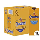 Chocomel Chocolademelk Halfvol, 6  x  1 L Pak