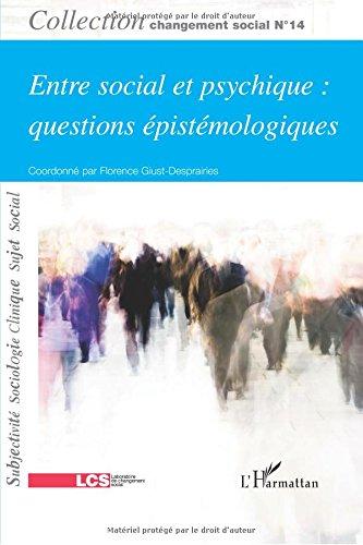 Entre social et psychique : questions pistmologiques