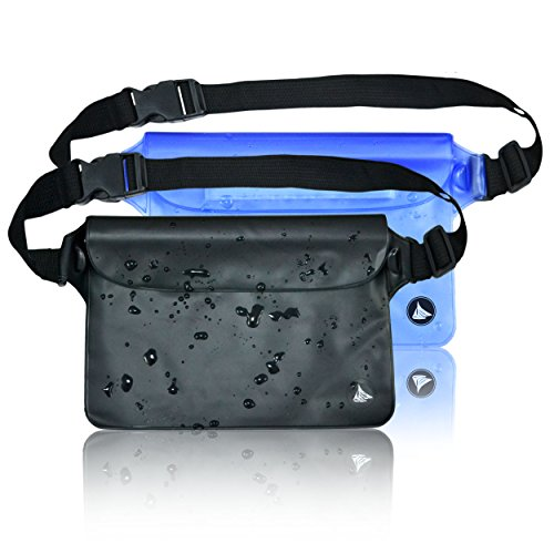 2-pack-elite-waterproof-pouch-dry-bag-case-with-waist-shoulder-strap-fanny-pack-for-boating-swimming