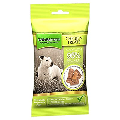 Natures Menu Real Meaty Dog Treats Chicken 12x60gm