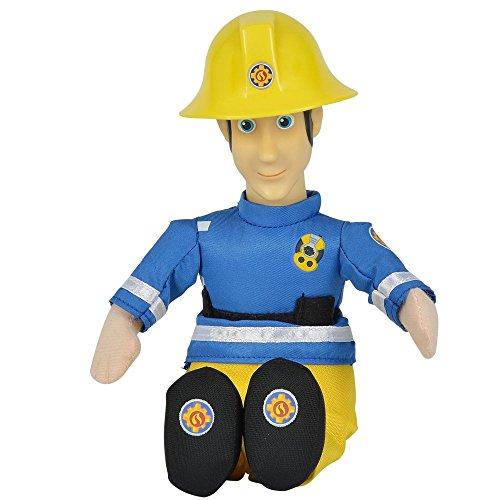 feuerwehrmann sam puppe Simba Auswahl Beanie Puppe | Plüsch Figur | 25 cm | Feuerwehrmann Sam, Typ:Elvis