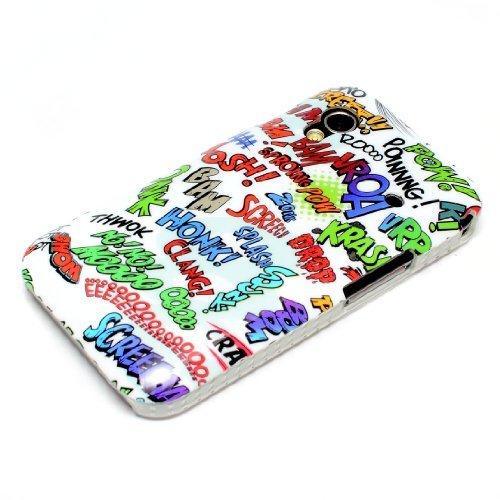 deinPhone Comic Carattere Custodia Rigida Protettiva per Samsung Galaxy Ace 1 S5830i