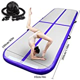 Fbsport Airtrack Gymnastique 3/4/5/6/7/8/9/10/12M Tumbling Gonflable en Couleurs Tapis De Gym Gonflable Piste d'Air Gonflable pour...