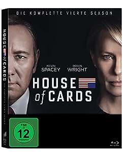 House of Cards - Die komplette vierte Season (4 Discs) [Blu-ray]