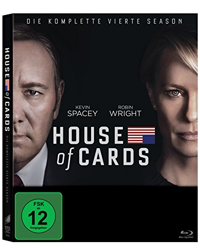 House of Cards - Die komplette vierte Season (4 Discs) [Blu-ray]