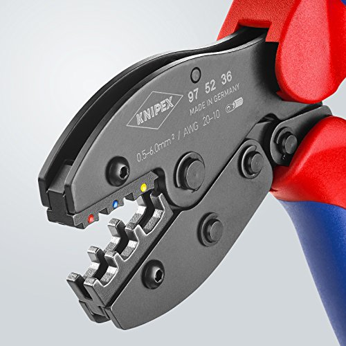 Knipex 7655120015 Alicate de engarce 235 x 80 x 25 mm