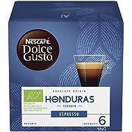 NESCAFÉ Dolce Gusto Honduras Corquin Espresso Coffee Pods, 12 Capsules (12 Servings)