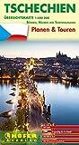 Übersichtskarte Tschechien - CZ 444: Planen & Touren - Böhmen, Mähren und Sudetenschlesien -