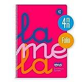 Lamela 7FTP004R - Cuaderno, 80 hojas