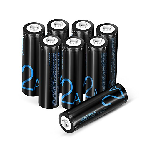 Batterie Ricaricabili,Coolreall Pile Ricaricabili AA...