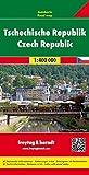 Freytag Berndt Autokarten, Tschechische Republik - Maßstab 1:400 000 (freytag & berndt Auto + Freizeitkarten) - Freytag-Berndt und Artaria KG