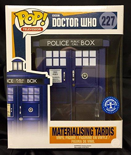 Funko Figurine Doctor Who - Materialising Tardis 15 cm [Importación francesa]