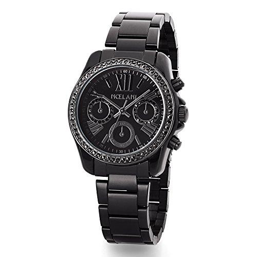 Noelani Damen-Armbanduhr Chrono-Optik Swarovski Kristalle Analog Quarz 2015553