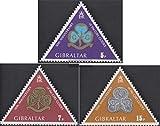 Gibraltar 325-327 (kompl.Ausg.) 1975 Pfadfinderinnen (Briefmarken für Sammler)