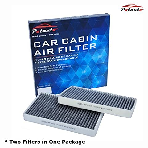 POTAUTO MAP 2001C Heavy Activated Carbon Car Cabin Air Filter Replacement compatible with CADILLAC, CHEVROLET, GMC by Potauto