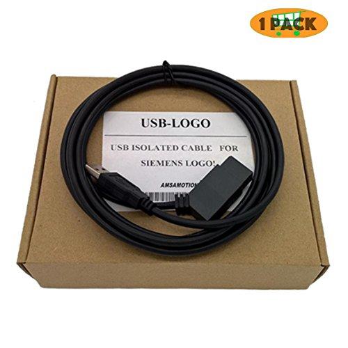 morismoon usb-logo 6ED1057–1AA01–0BA0Isolierte Programmierung Kabel für USB-Kabel für Siemens LOGO SERIES PLC Unterstützung Win7 (057-kabel)
