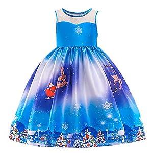 Mädchen Weihnachten Kleide | MEIbax Baby Prinzessin Abendkleider Partykleider Kleidung | Black Friday and Cyber Monday Week | Weihnachten 50% Deals