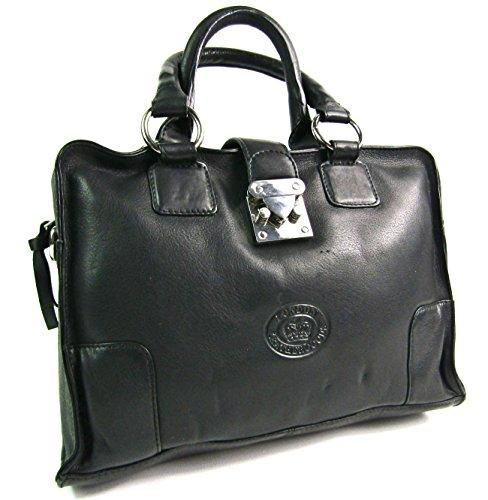 f7aff0317b314 Damen Designer Super Weich Premium Leder Handtasche Schulter Umhängetasche  Schwarz