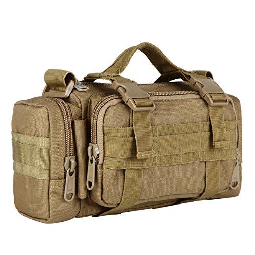 HAOYUXIANG Esterna Tasche Multifunzione Tracolla Equitazione / Viaggi / Tasche Sport / Camouflage Bag Multi-color,C7 C6