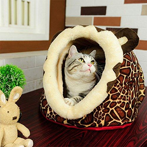 LA VIE Casa Adorable Mascotas Casita Lavable Cachorros