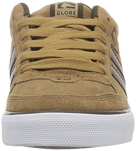 Globe - Encore-2, Scarpe da ginnastica Uomo Multicolore (Tan/brown)