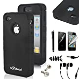 Best SQdeal phone - iphone 4 case iphone 4s case SQdeal 3in1 Review