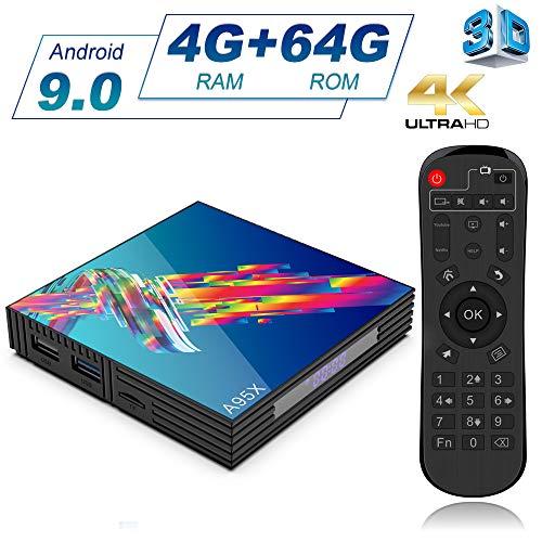 A95X Android 9.0 Smart TV Box [4GB RAM +64GB ROM]