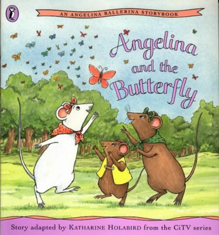 Angelina and the butterfly