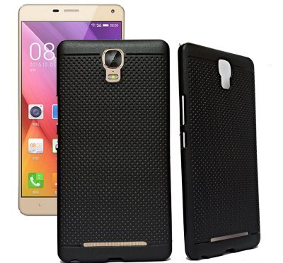RSC POWER+ 360* Protection Premium Dotted Designed Soft Rubberised Back Case Cover For Gionee Marathon M5 Plus -Black  available at amazon for Rs.119