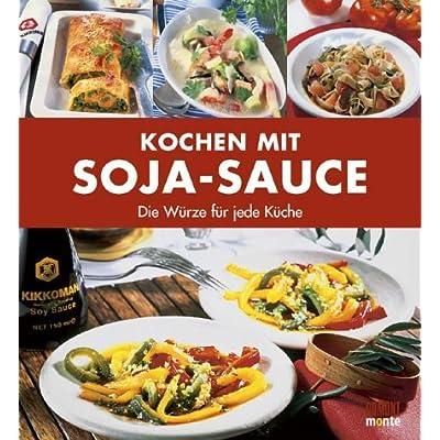 Kochen mit Soja-Sauce