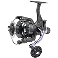 Supertrip Pike Carp Reels Baitrunner Spinning Fishing Reel with Front Drag and Rear Drag 11+1BB Ball Bearing 4.7:1