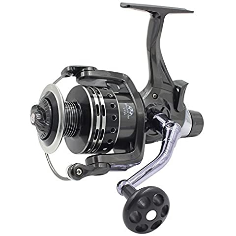 Supertrip IFR6000 Pike Carp Reel Baitrunner Spinning Fishing Reel with