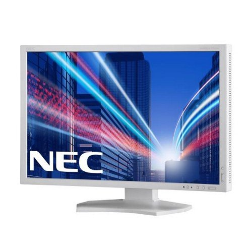 NEC PA242W 24 inch Professional LCD Monitor - White (16:10, AH-IPS panel, 340 cd/m2, 1000:1, 1920 x 1200, 8ms, VGA/DVI-D/HDMI/DP)