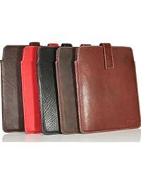 HYDESTYLE iPad Funda de piel GC06 marrón Russet Brown