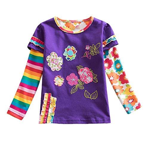 Gewissenhaft Sommer Infant Kinder Baumwolle T-shirt Baby Mädchen Prinzessin Spitze Hülse Tops Niedriger Preis Oberteile