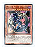 YGLD-DEC02 Dunkler Magier des Chaos 1. Auflage im Set mit original Gwindi Kartenschutzhülle