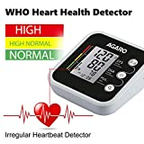 Agaro Automatic Digital Blood Pressure Monitor with Adaptor Carry Bag and Batteries