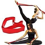 VERY100 Ballet Stretch Bande étirement pour l'entraînement de la flexibilité et la souplesse (rouge)