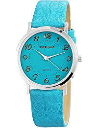 Excellanc Damen-Armbanduhr Analog Quarz verschiedene Materialien 195023500180