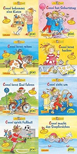 Preisvergleich Produktbild Pixi-Bundle 8er Serie 190: Neue Abenteuer mit Conni (Pixi-8er-Set, Band 190)