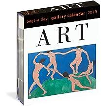 Art Callery Page-A-Day Calendar 2019