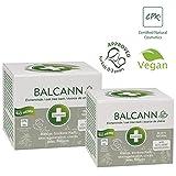 Annabis Balcann Oak Tree Bark Salbe - 50ml - zur Anwendung auf gereizter gereizter Haut und daher nach Hämorrhoiden - mit Cannabis Sativa und D-Panthenol.