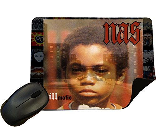 Nas - Illmatic Album cover Mouse Mat / Pad - By Eclipse Gift Ideas