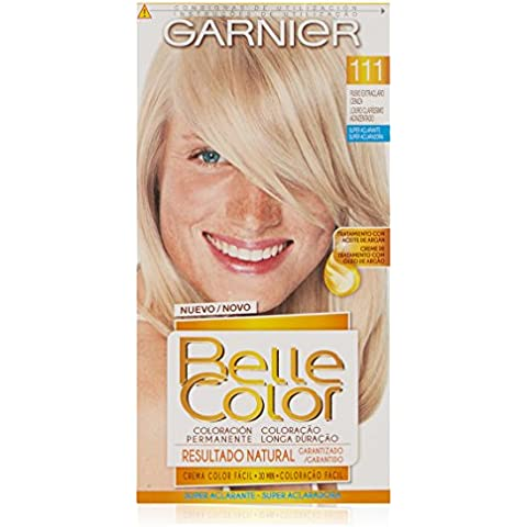 Coloración Belle Color nº111 Rubio Extra Claro Ceniza de Garnier