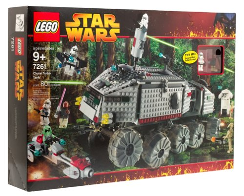 LEGO 7261 Clone Turbo Tank  2.Edition