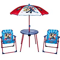 URBN Toys Garden & Picnic Set for Children - Parasol, Table and 2 Chairs