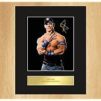 My Prints - Fotografia su cornice di John Cena, con autografo